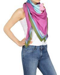 Contileoni Limited Edition Cotton Silk Foulard - Lyst