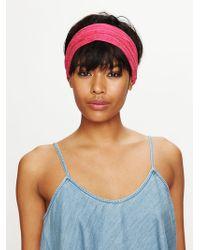 Free People Floral Garden Headwrap - Lyst