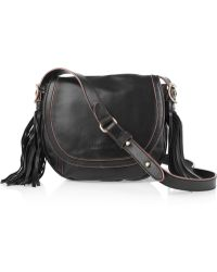 See By Chloé Twin Tassels Leather Shoulder Bag - Lyst