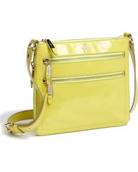 Cole Haan Jitney Sheila Patent Leather Crossbody Bag - Lyst