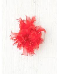 Free People Tatty Chiffon Flower - Lyst