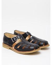 YMC Ymc Mens Leather Sandal - Lyst