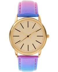 ASOS - Multi Colour Metallic Watch - Lyst