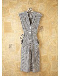 Free People Vintage Tie Waist Dress - Lyst