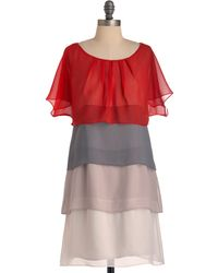 ModCloth Fade Would Have It Dress - Lyst