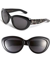 Saint Laurent Cats Eye Sunglasses - Lyst