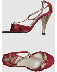 Marc Jacobs High Heeled Sandals - Lyst
