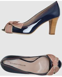 Studio Pollini Pumps With Open Toe - Lyst