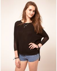 ASOS Collection Asos Top in Loose Knit - Lyst