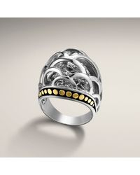 John Hardy Large Dome Ring - Lyst
