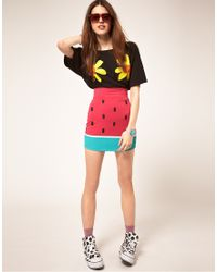 Lazy Oaf Watermelon Skirt multicolor - Lyst