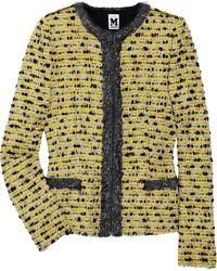 M Missoni Wool-blend Bouclé Box Jacket - Lyst