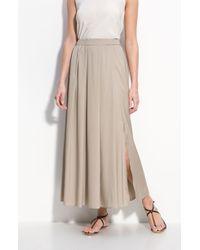 Valette   Pull-on Silk Maxi Skirt   Lyst