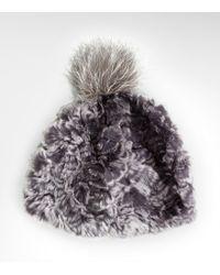 Tory Burch Pom Pom Hat - Lyst