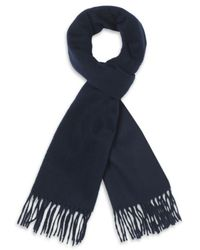 Harrods - Lambswool and Angora Scarf - Lyst
