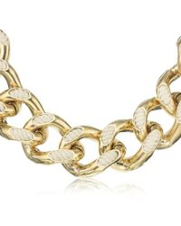 Lanvin - Chain and Rope Necklace - Lyst