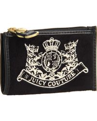 Juicy Couture - Scottie Embroidery Drop in Key Purse - Lyst