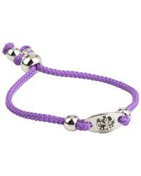 Juicy Couture - Crown Id Friendship Bracelet - Lyst