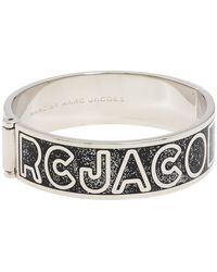 Marc By Marc Jacobs Classic Marc Hinge Bangle - Lyst