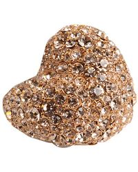Marc By Marc Jacobs Pave Heart Ring - Lyst