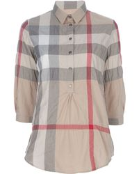 Burberry Brit Checked Shirt. - Lyst