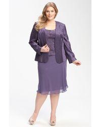 Patra | Beaded Chevron Jacket & Dress | Lyst