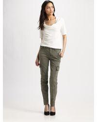 J Brand Maverick Skinny Zip Jeans - Lyst