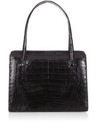 Nancy Gonzalez Framed Shiny Handbag - Lyst