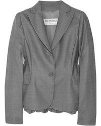Valentino Roma Wool-blend Twill Jacket - Lyst