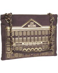 Love Moschino | Shoulder Bag In Brown | Lyst
