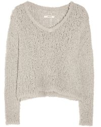 J Brand Martha Loose-Knit Cotton-Blend Sweater - Lyst