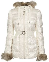 Juicy Couture - Belted Puffer Coat - Lyst