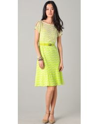 Nanette Lepore Homecoming Lace Dress - Lyst