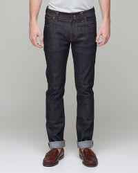 Nudie Jeans Thin Finn Organic Dry Twill - Lyst