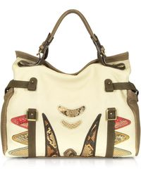Abaco - Puma Ethnique Leather Tote - Lyst