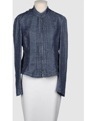 Armani Denim Outerwear - Lyst
