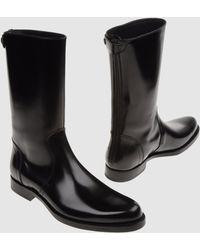 Jil Sander Boots - Lyst