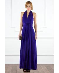 Coast Goddess Maxi Dress - Lyst