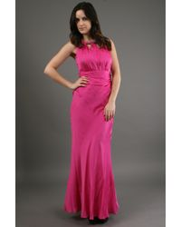Kay Unger Gown with Bead in Peony - Lyst
