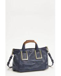 Chloé Ethel Lambskin & Goatskin Leather Top Handle Satchel - Lyst