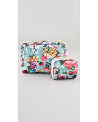 LeSportsac - Extra Large Cosmetic Case Combo - Lyst