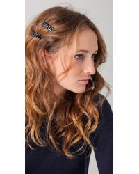 Marc By Marc Jacobs Marc Script Hairclip - Lyst