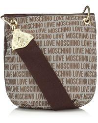 Love Moschino | Logo Crossbody Bag | Lyst