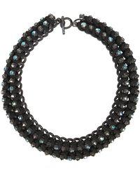 AllSaints - Anya Necklace - Lyst