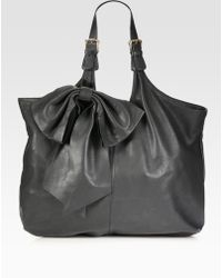 RED Valentino Large Bow Hobo Bag - Lyst
