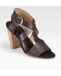 A Detacher - Ellroy Leather Sandals - Lyst