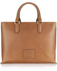 5b26dc78b482 Ralph Lauren Collection - Saddle - Leather Tote Bag - Lyst