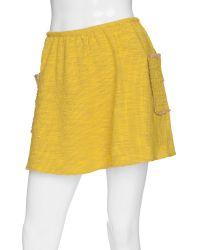 Gryphon - Tweed Happy Mini Skirt - Lyst