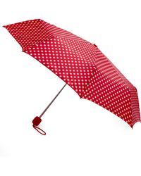 ModCloth | Beach Bumbershoot Umbrella in Red | Lyst