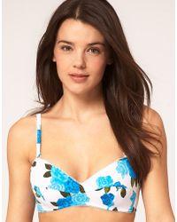 Seafolly Lola Rose Bikini Top - Lyst